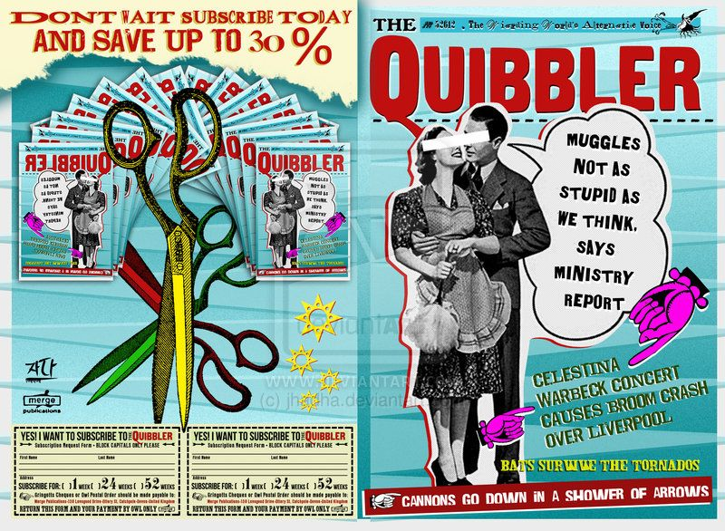 Quibbler Cover Quibbler 5 by jhadha.d...