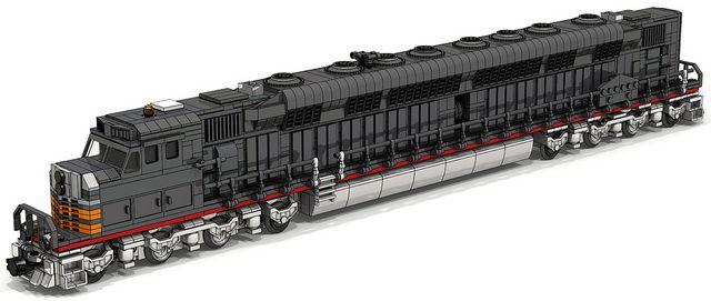 Lego Union Pacific Big Boy Train Remote Control brinquedos em - copy lionel trains coloring pages