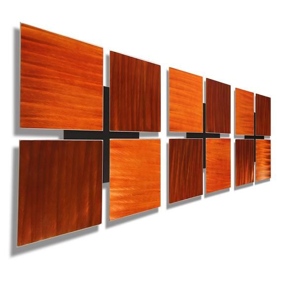 Metal Wall Art Multi Panel Wall Art Abstract Painting Large