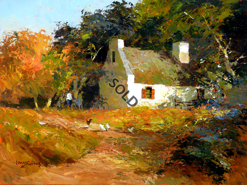 Farmhouse by | Dante Art Gallery