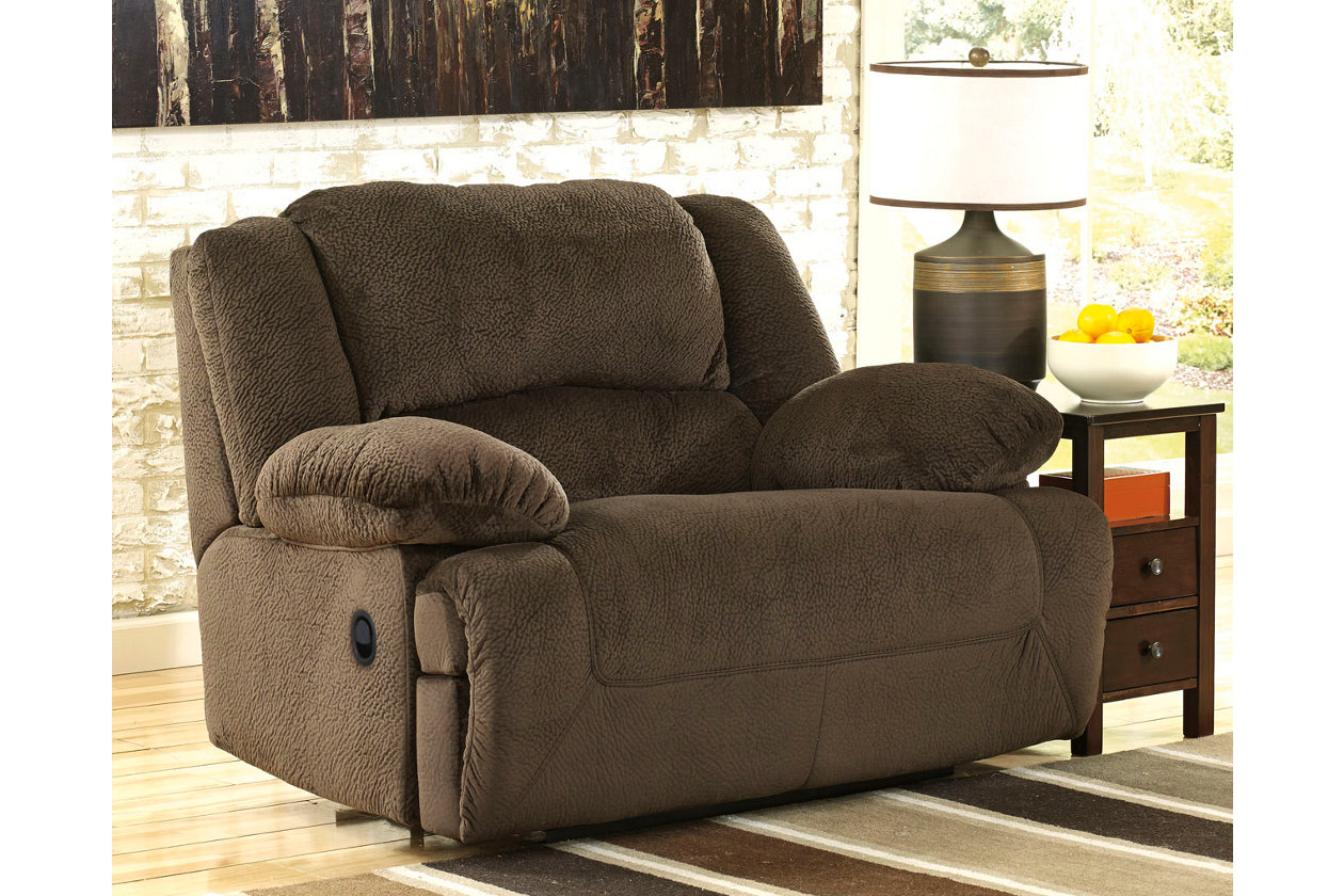 Toletta Oversized Recliner Ashley Furniture Homestore Wide Seat Recliner Recliner Chair Ashley Furniture Living Room
