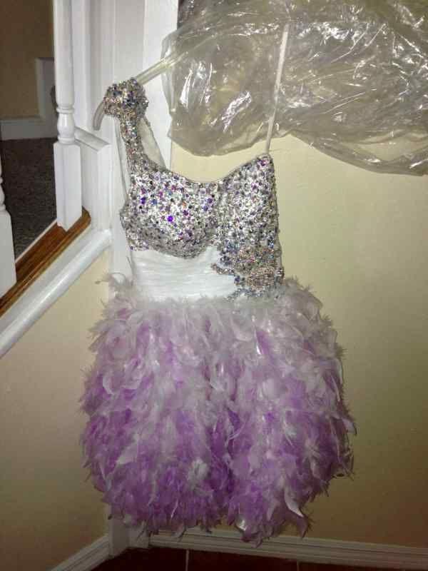 Short prom dress size 0 ...