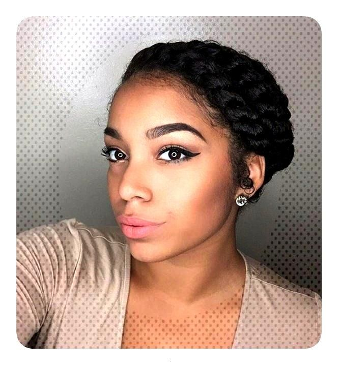 2018 Flat Twists Braid Ideas For women's_Twists Braid Hair