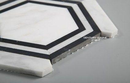 best bath room floor hexagon black and white 40+ ideas #