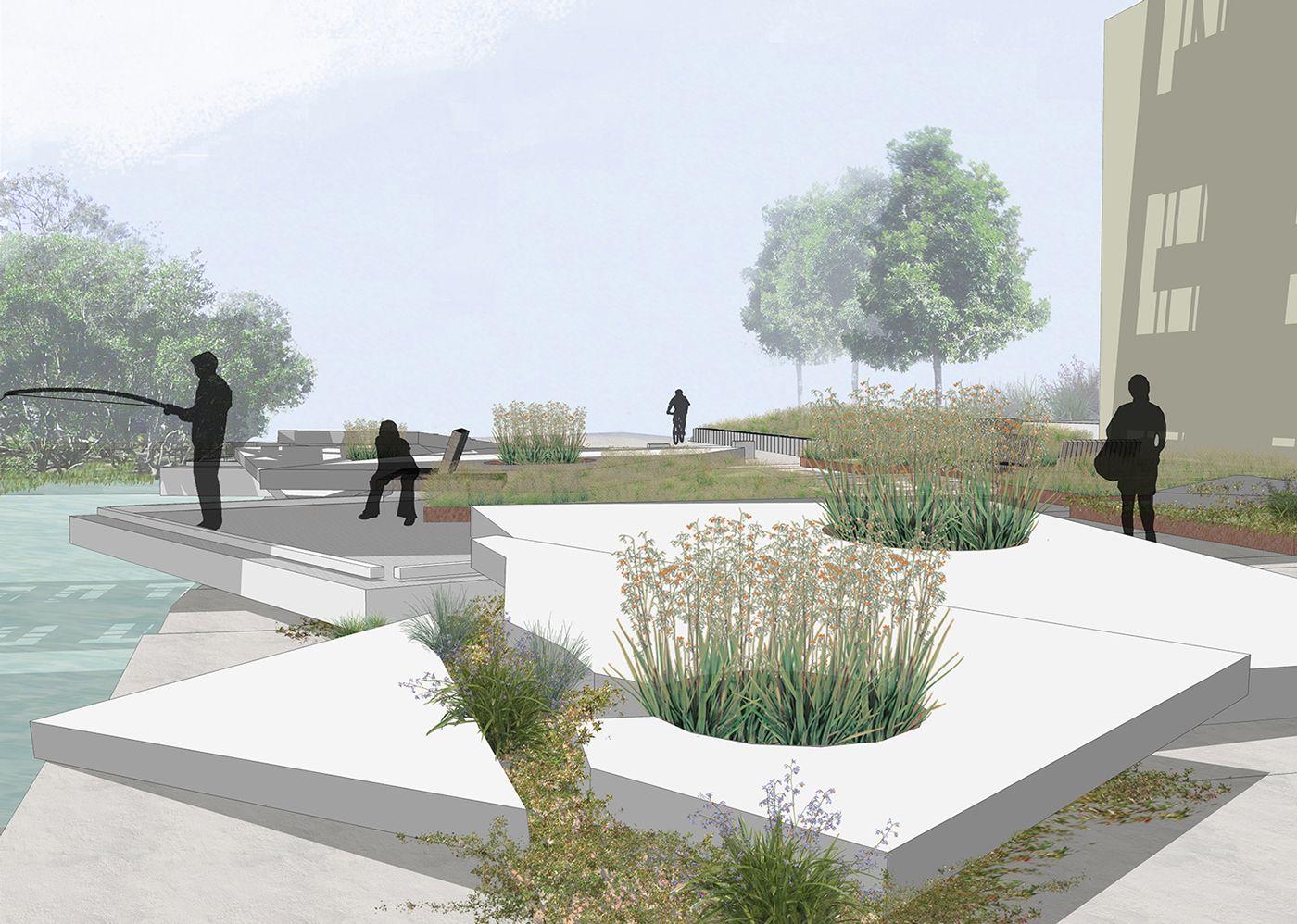 John Whitton Bridge Open Space Landscape architecture