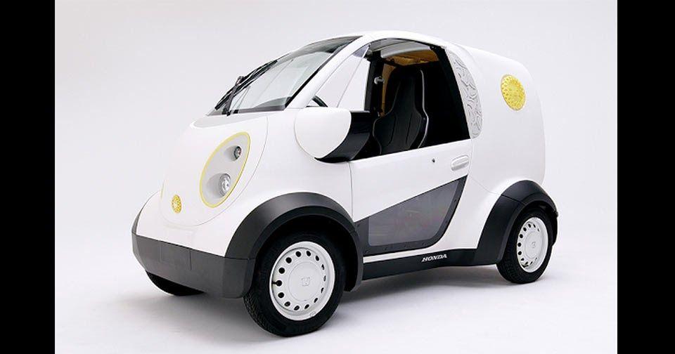 Kabuku and Honda Create A 3D-Printed Vehicle #Honda #Honda_Concepts