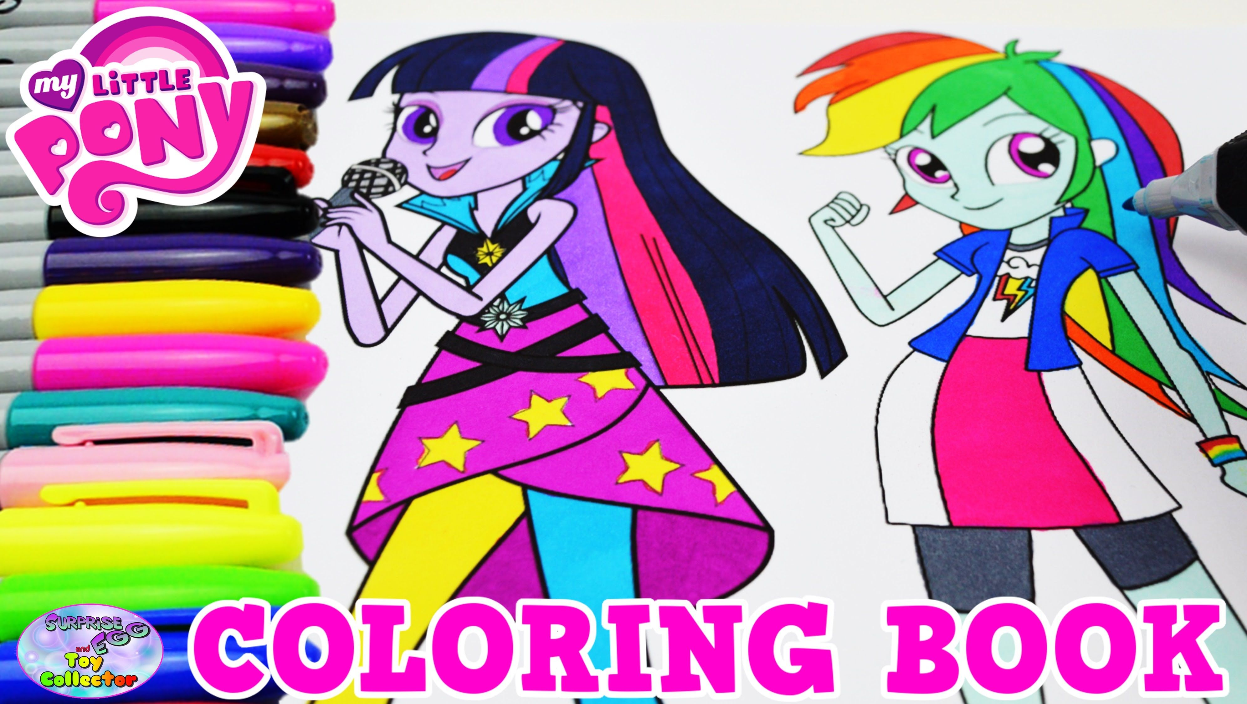 my little pony coloring book gaia everfree gloriosa daisy mlpeg