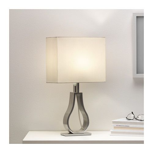 Table Lamps For Bedroom Ikea Ikea Lamp Shades For Table: KLABB Table Lamp, Off-white