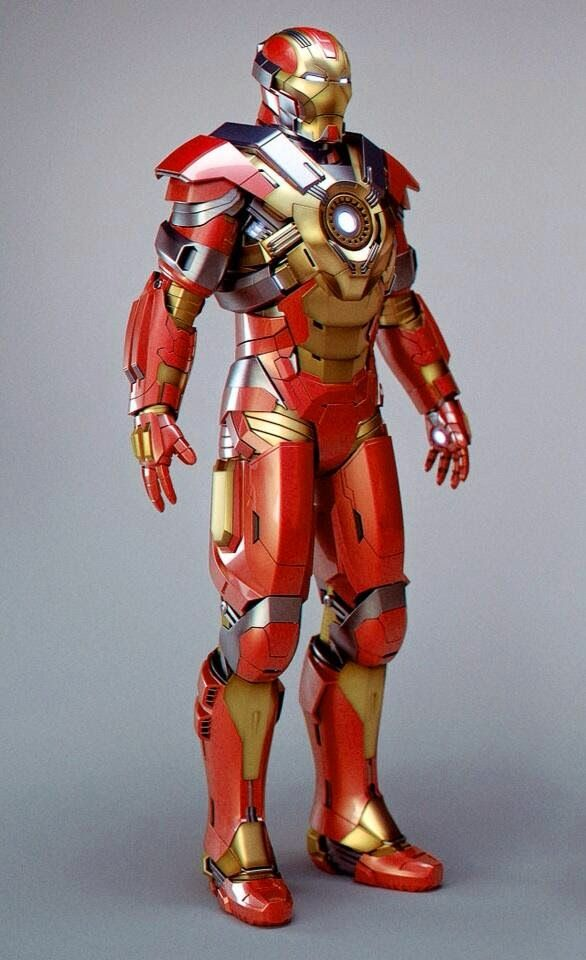 Vibranium Armor for Iron Man in Avengers 2: Age of Ultron ...