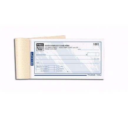 Colored Custom Receipt Books 691T Business Forms Pinterest - duplicate order form