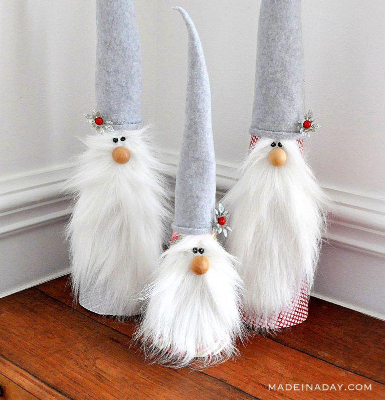 DIY Holiday Gnomes Christmas diy, Xmas crafts, Christmas
