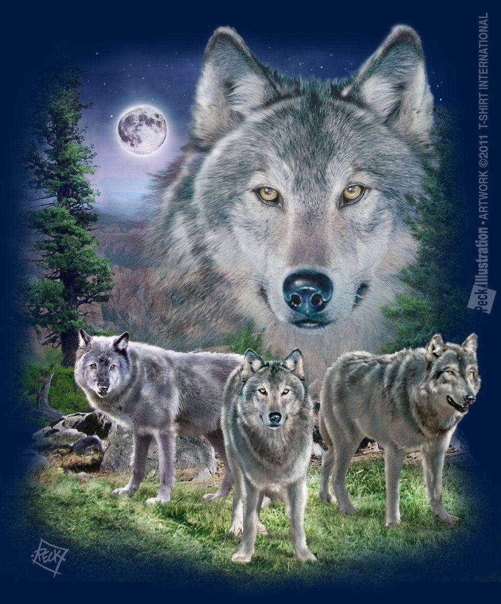 Wolf Lookout by joe6peck on DeviantArt