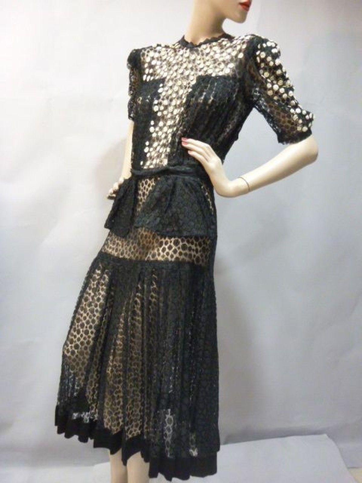 1940 Cocktail Dress - Thierry de Maigret | Needful things-Colour ...