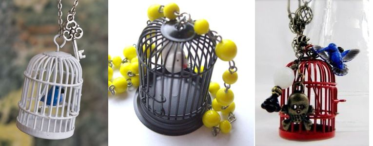 love birdcage pendants!