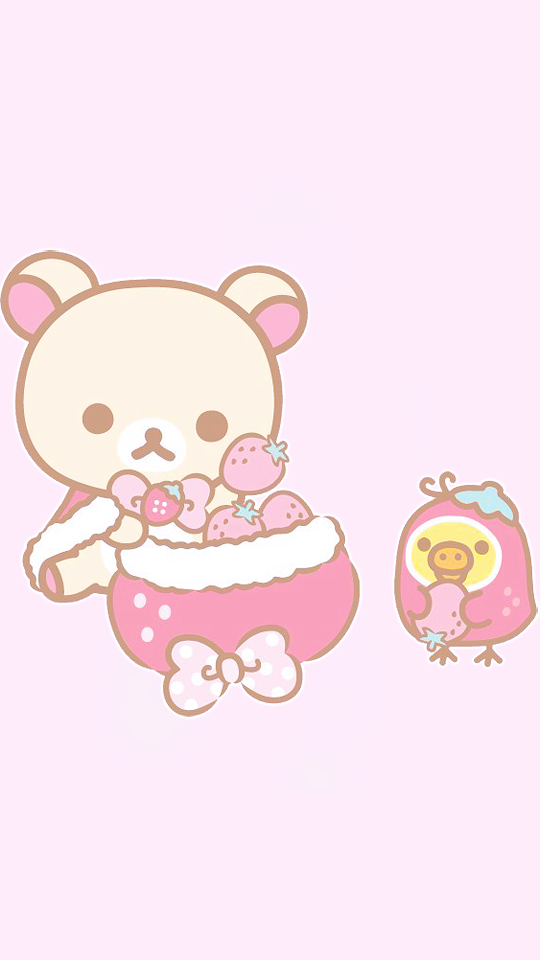 Sanrio Tumblr Rilakkuma Wallpaper Cute Cartoon Wallpapers Kawaii Wallpaper