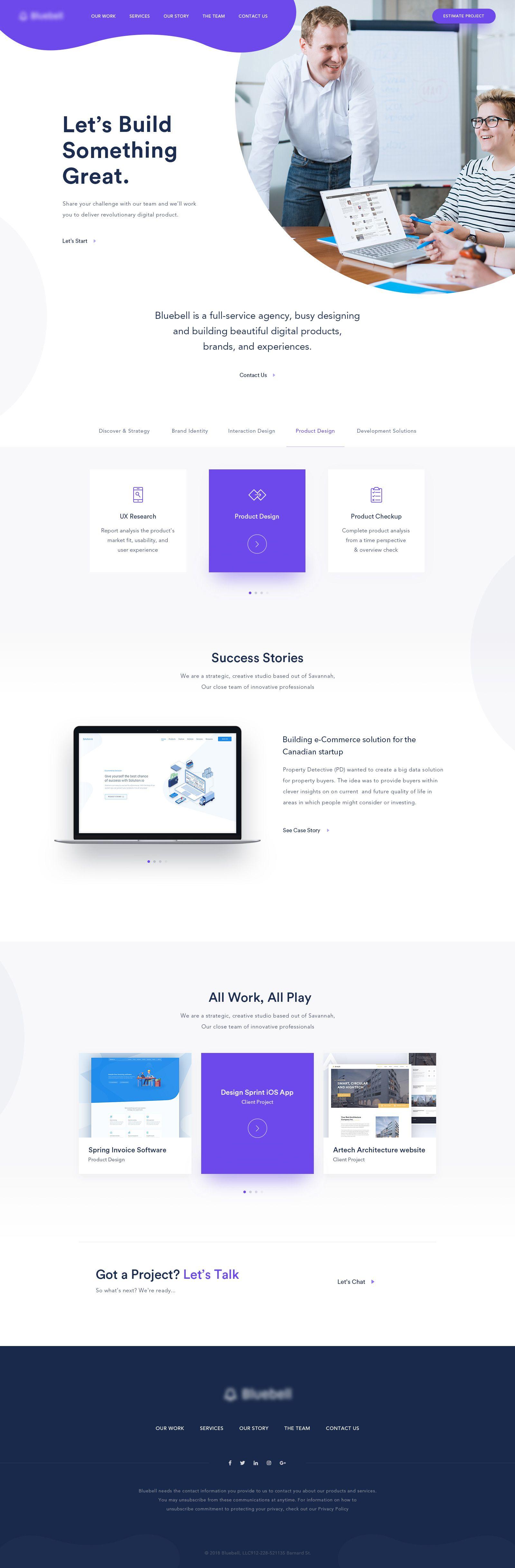 Home Page Design For Digital Agency Startup Design Minimal Web Design Page Design