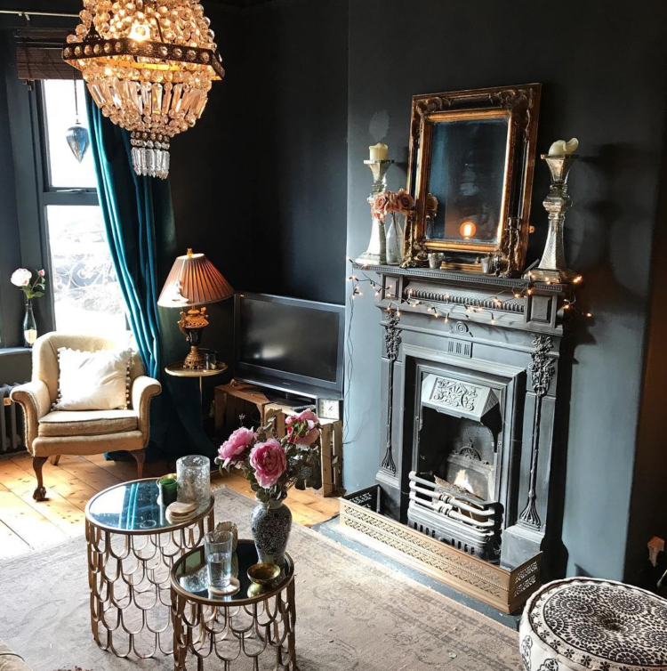 10 Beautiful Rooms The South West Dark Interiors Home Decor