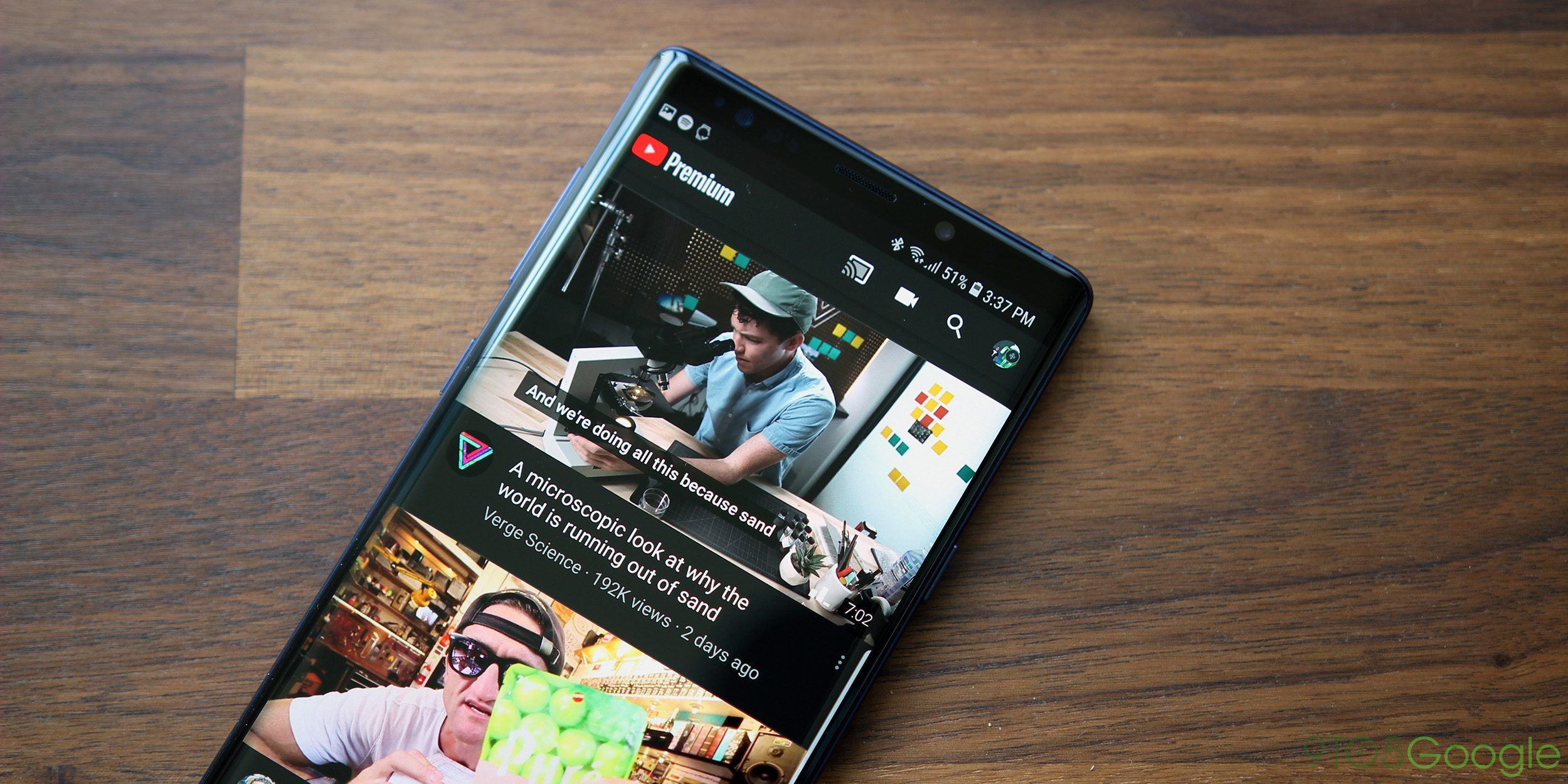 YouTube testing movie showtimes, app installs, and more