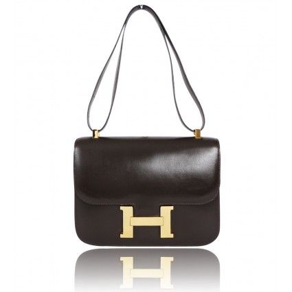 7a5728d37ace The Herms Box Calf Leather Constance Shoulder Bag is a top 10 member  favorite on Tradesy.
