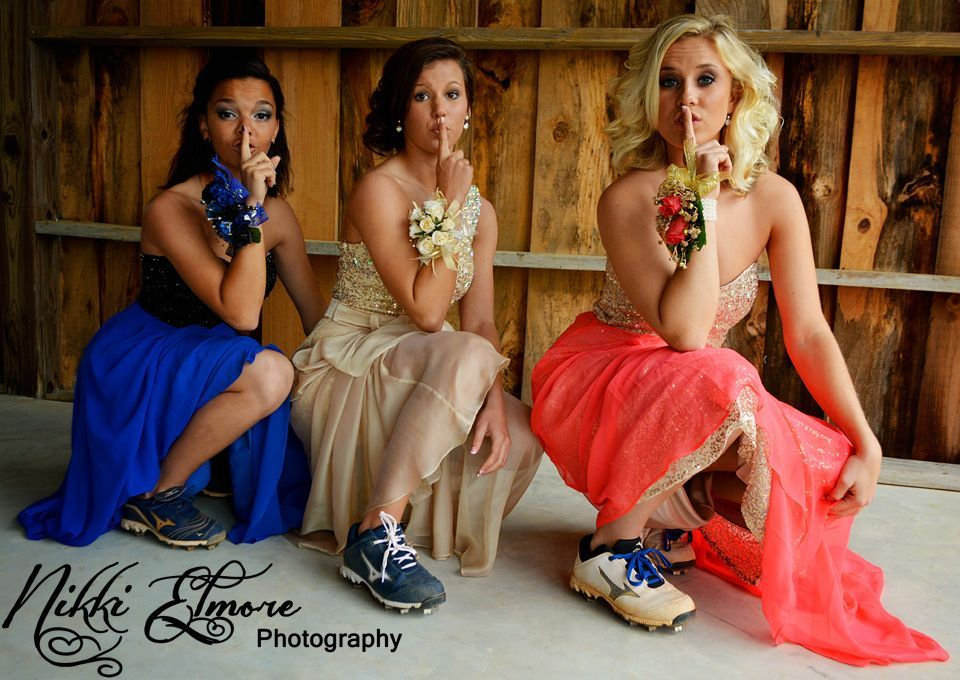 Softball Prom photography ideas #promphotographyposes Softball Prom photography ideas #promphotographyposes