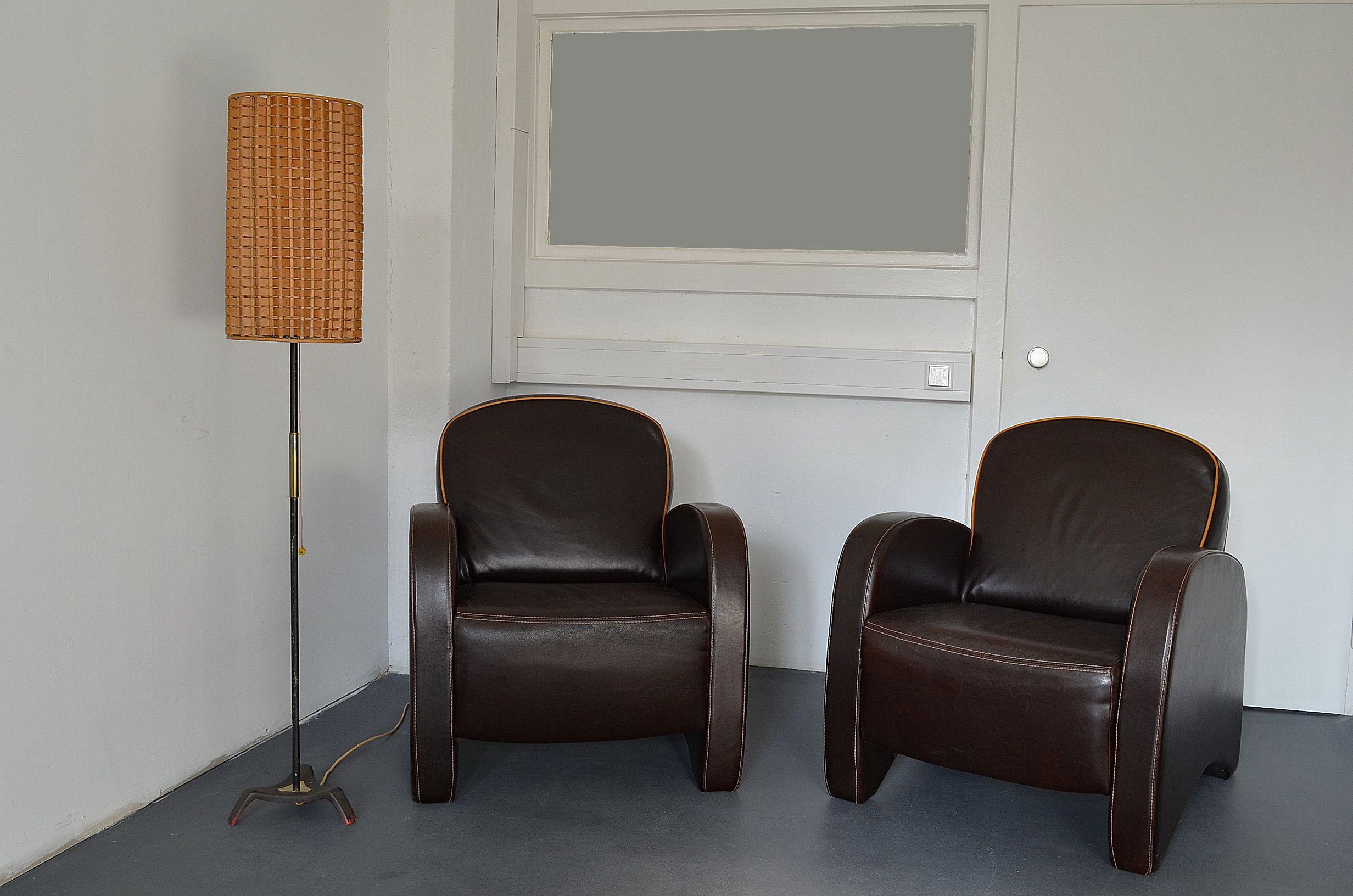 Streamline art deco lounge chair sessel armlehnsessel in