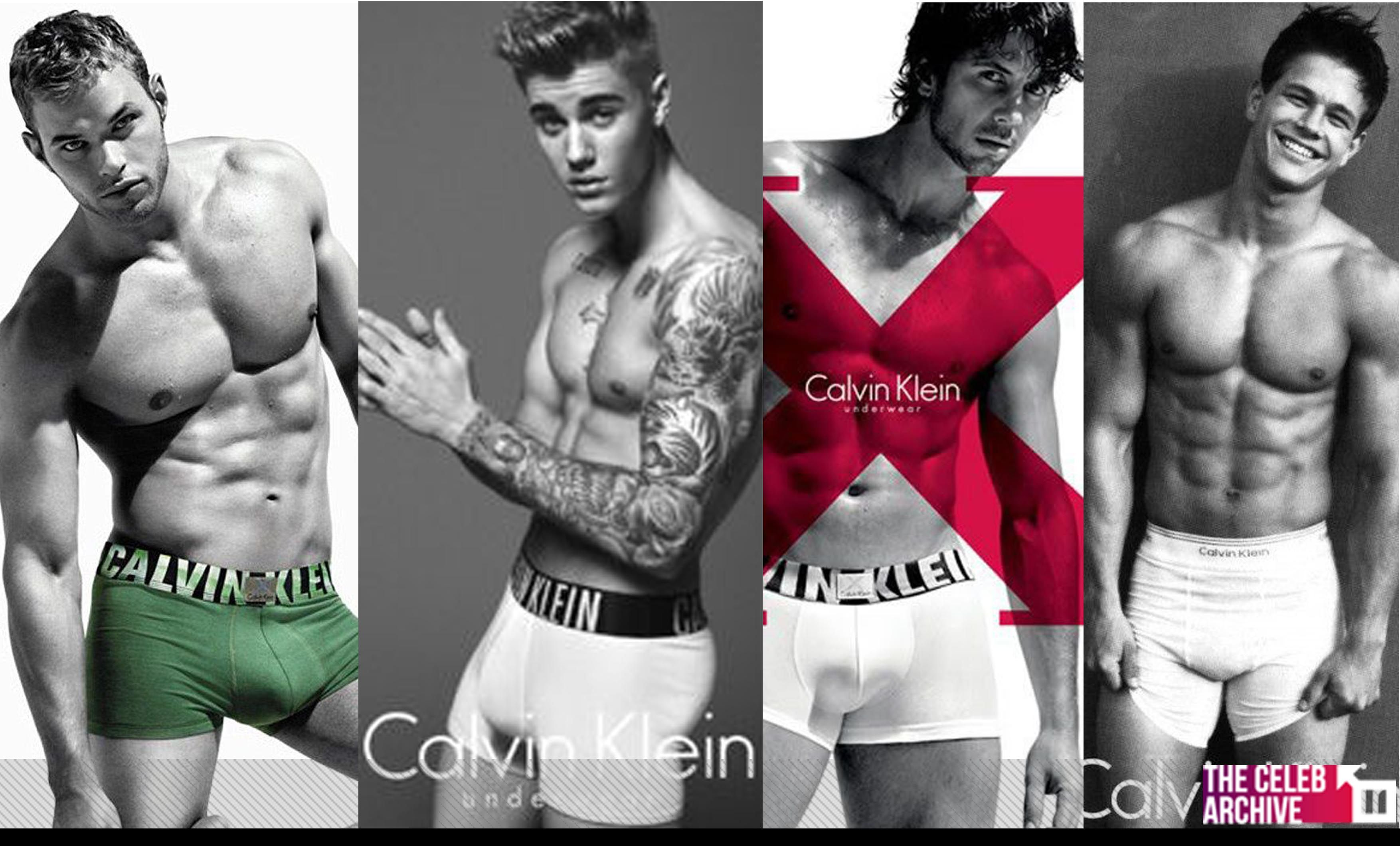 Calvin Klein  s Hottest Male Celebrity Models  Who wins  1. Kellan Lutz 2.  Justin Bieber 3. Fernando Verdasco! 4. Mark Wahlberg  6845b002ac54