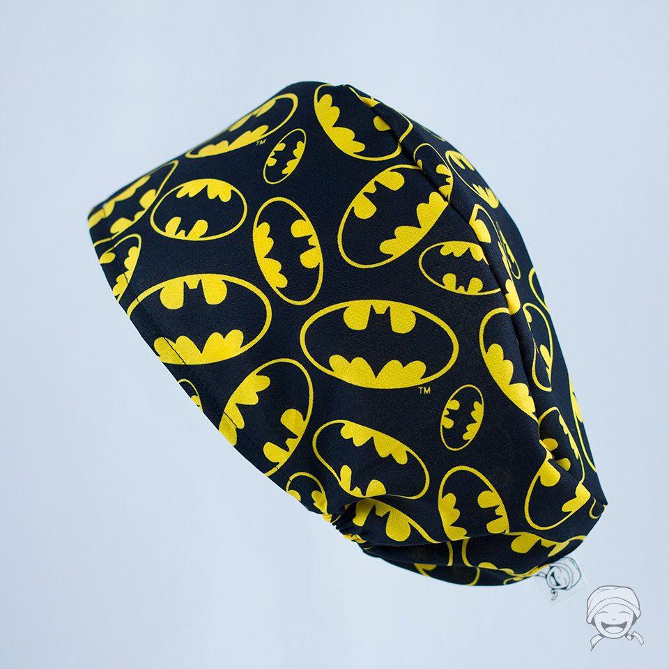 Batman - EDICIÓN ESPECIAL - Gorro elástico quirófano / repostería personalizable de LaCostureraPirata en Etsy