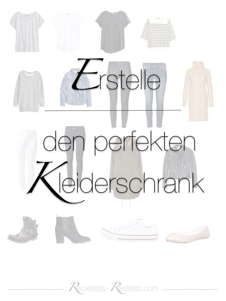 Kleiderschrank clipart  die perfekte Garderobe erstellen - die Regeln der Capsule Wardrobe ...