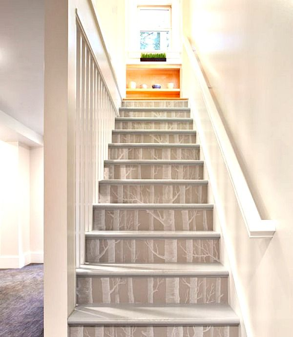 Best Decorating With Birch Wallpaper Stairs Wallpaper 400 x 300