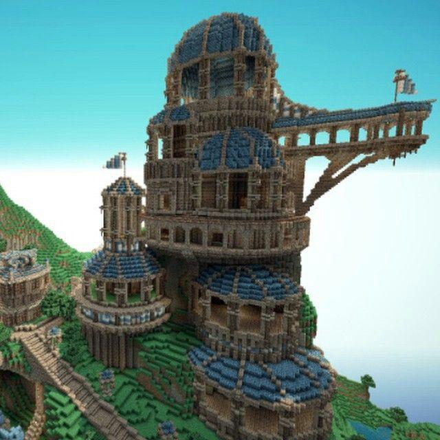 Really Cool House On Minecraft Minecraft Pinterest - Minecraft coole spiele