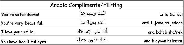 flirting meaning in arabic meaning dictionary english words