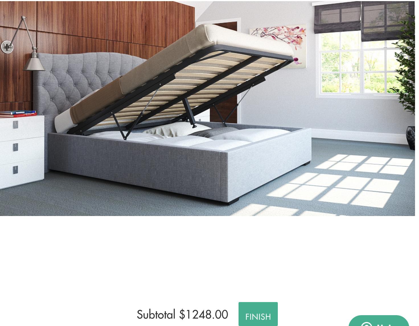 BROSA - Hannah with Gas Lift | Design a Bed | Pinterest | Homewares ...