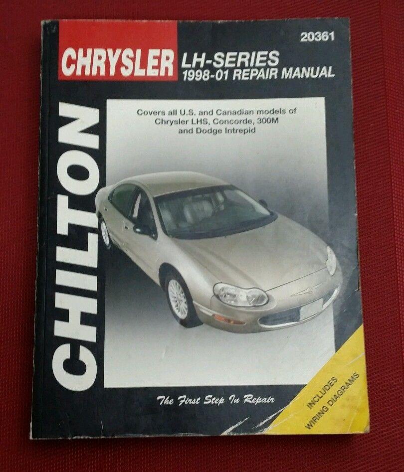 Chilton Repair Manual Book Chrysler Lh Series 1998 2001 20361 Concorde Lhs 300m Canadian Models Repair Manuals Automotive