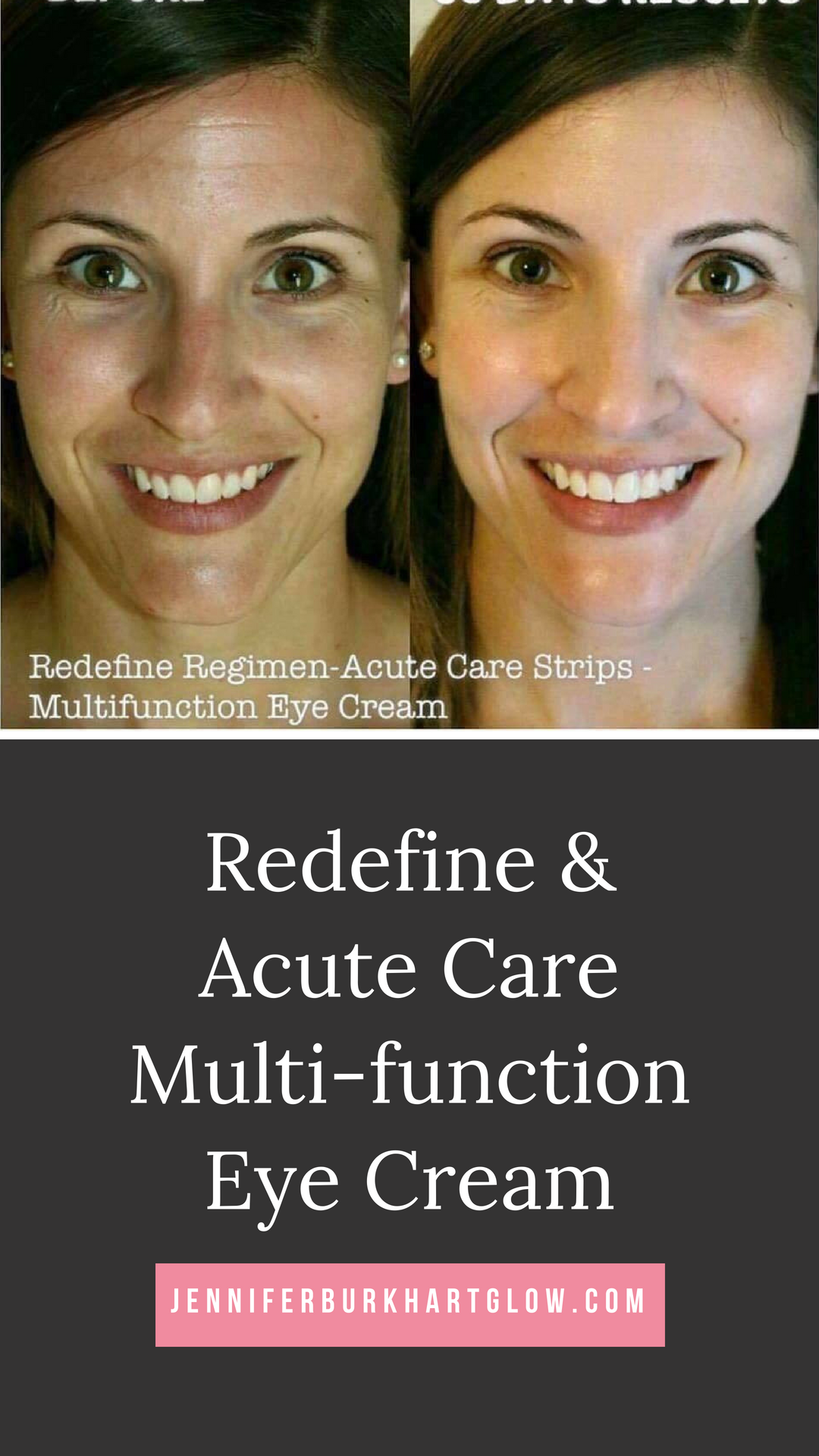 29b13373a64 Jennifer Burkhart | Glow with me Looking younger is as easy as 1 – 2 – 3.  Our #RedefineRegimen was scientifically developed to help reduce the look  of fine ...