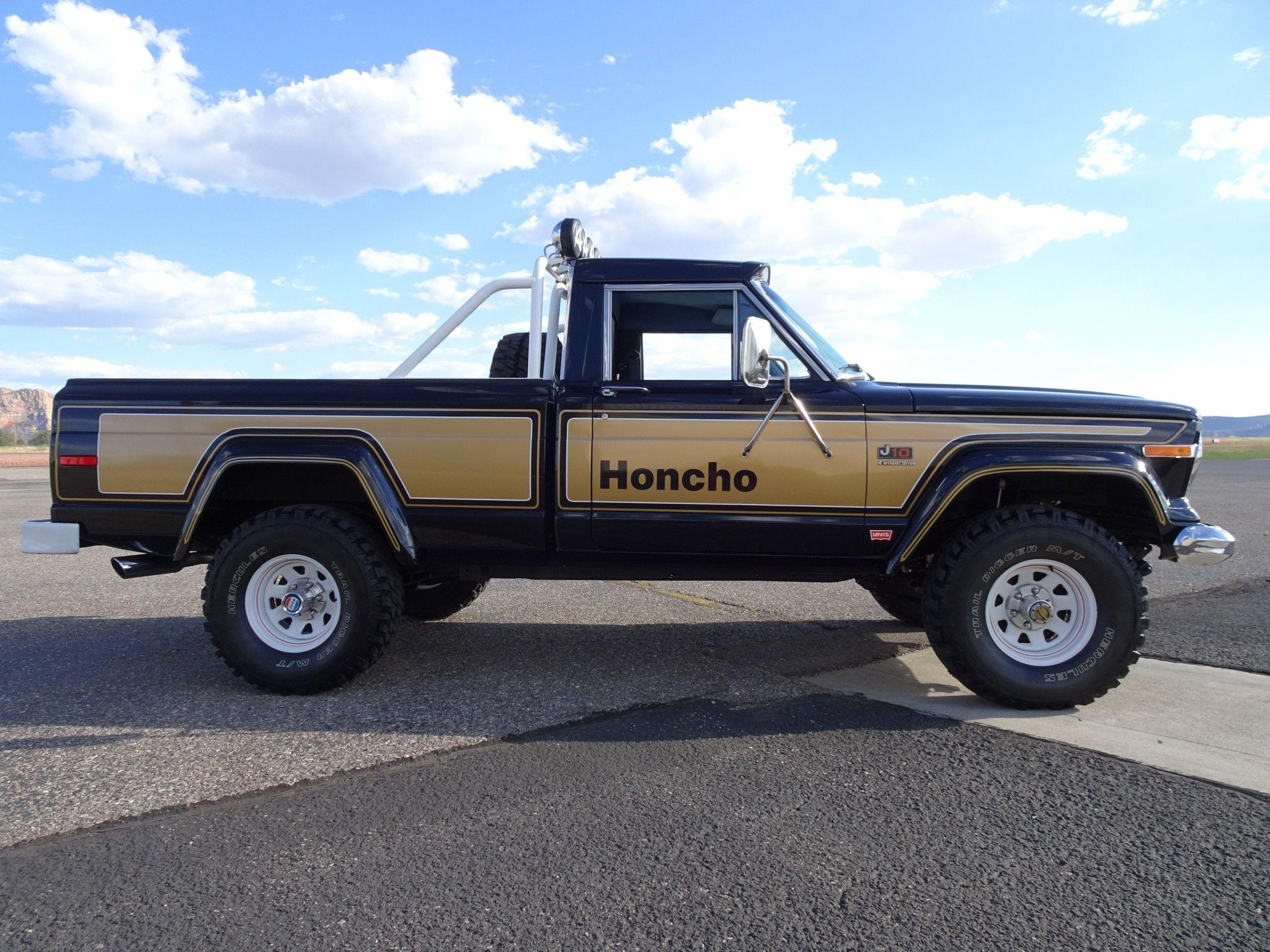 1977 Jeep J10 Honcho Pickup Jeep Jeep Truck Jeep Pickup