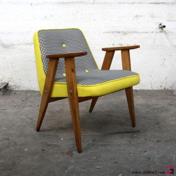 fauteuil vintage annee 60 pinterest fauteuil vintage ann es 60 et fauteuils. Black Bedroom Furniture Sets. Home Design Ideas
