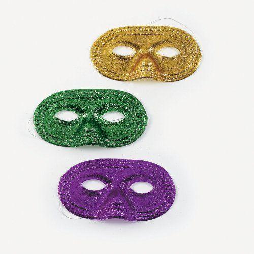 Mardi Gras Glitter Half Masks (1 dz)colors may vary, http://www.amazon.com/dp/B003994YDS/ref=cm_sw_r_pi_awdm_Jux9sb0EESCDH