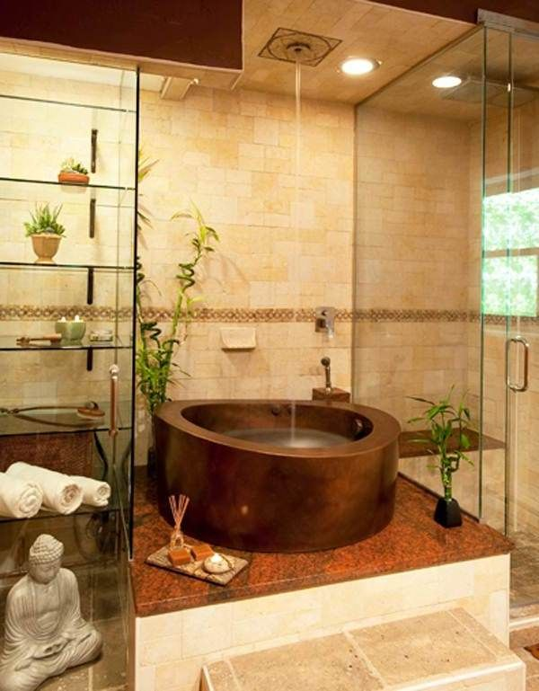 Modern and Cool Japanese Tub with Shower Combo for Relaxing Design | bathrooms | Zen bathroom ...