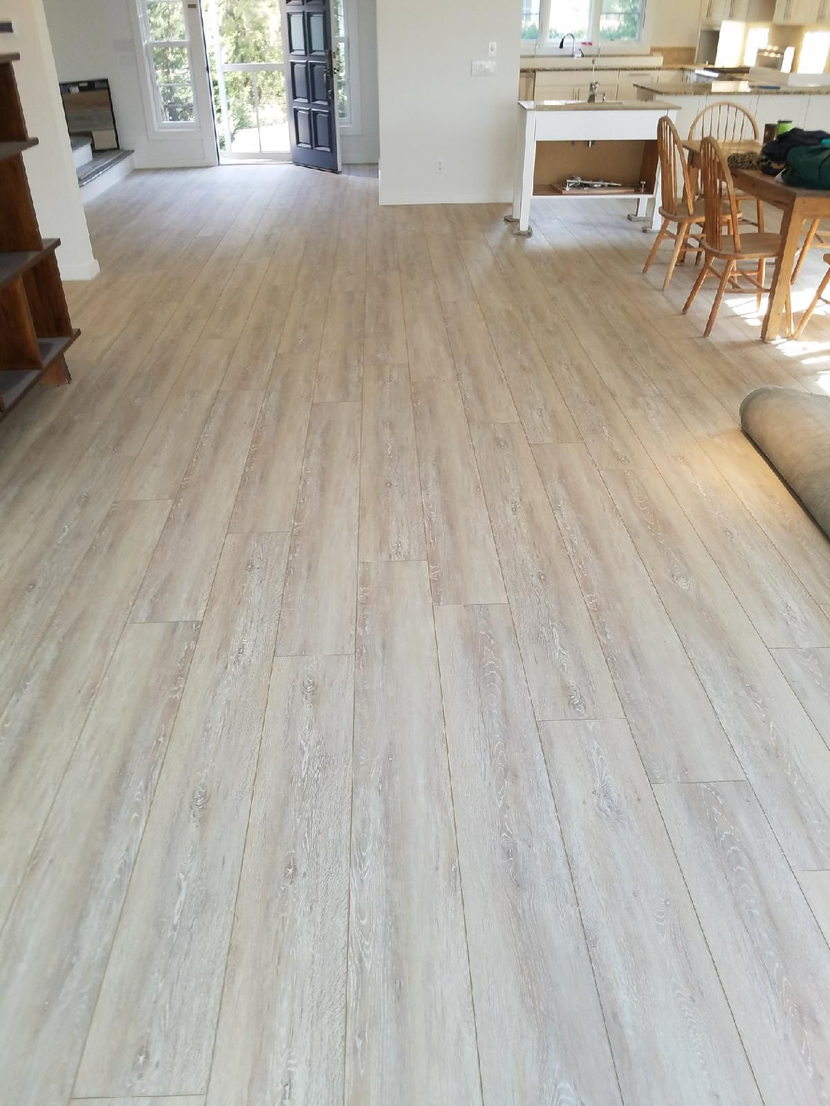Wider View Of Install Lvp Coretec Plus Xl Enchancd In Everest Oak