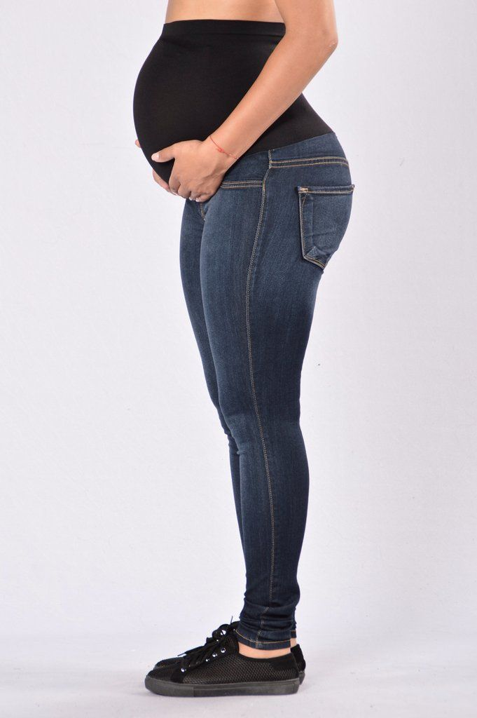 6ac874221223c Our Classic High Waist Skinny Jeans have been updated for our  NovaMoms-to-Be! These jeans feature a full maternity panel which  comfortably stretches over ...