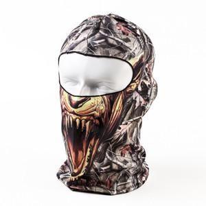 bf3279940b1 Brand 3D Cycling Bicycle Sports Outdoor Ski Snowboard Motorcycle Skull Cap  Helmet Balaclava Headgear Hats Protect Full Face Mask