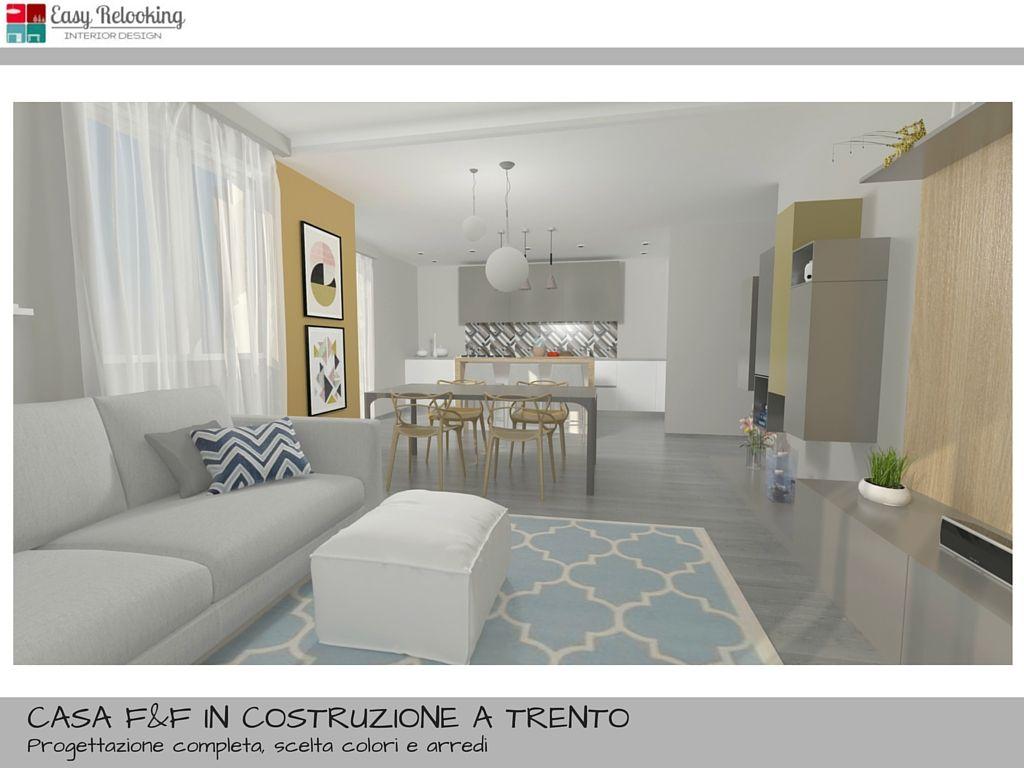 Arredamento open space cucina e soggiorno livingroom - Open space cucina soggiorno classico ...
