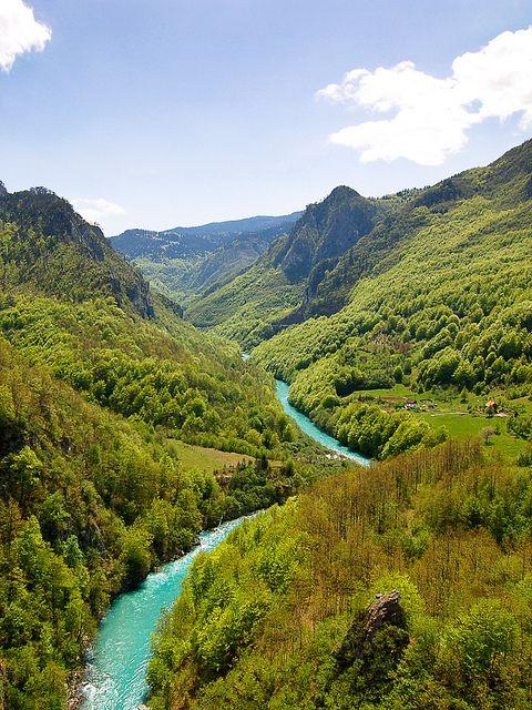 Tara River Canyon, Montenegro http://www.miro-reisen.ch/