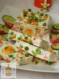 Galaretka Wielkanocna Terrina Culinary Recipes Easter Dishes Party Cooking