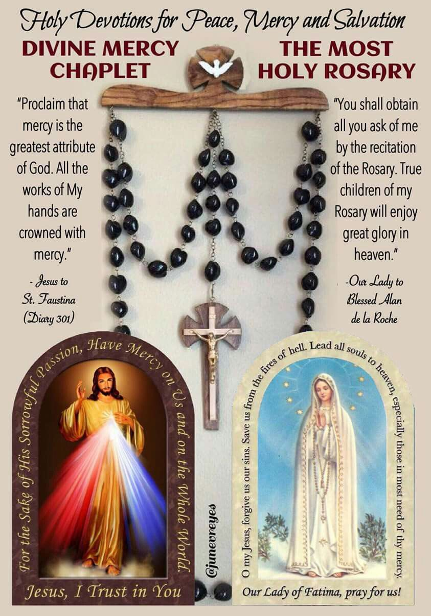 how to divine mercy chaplet