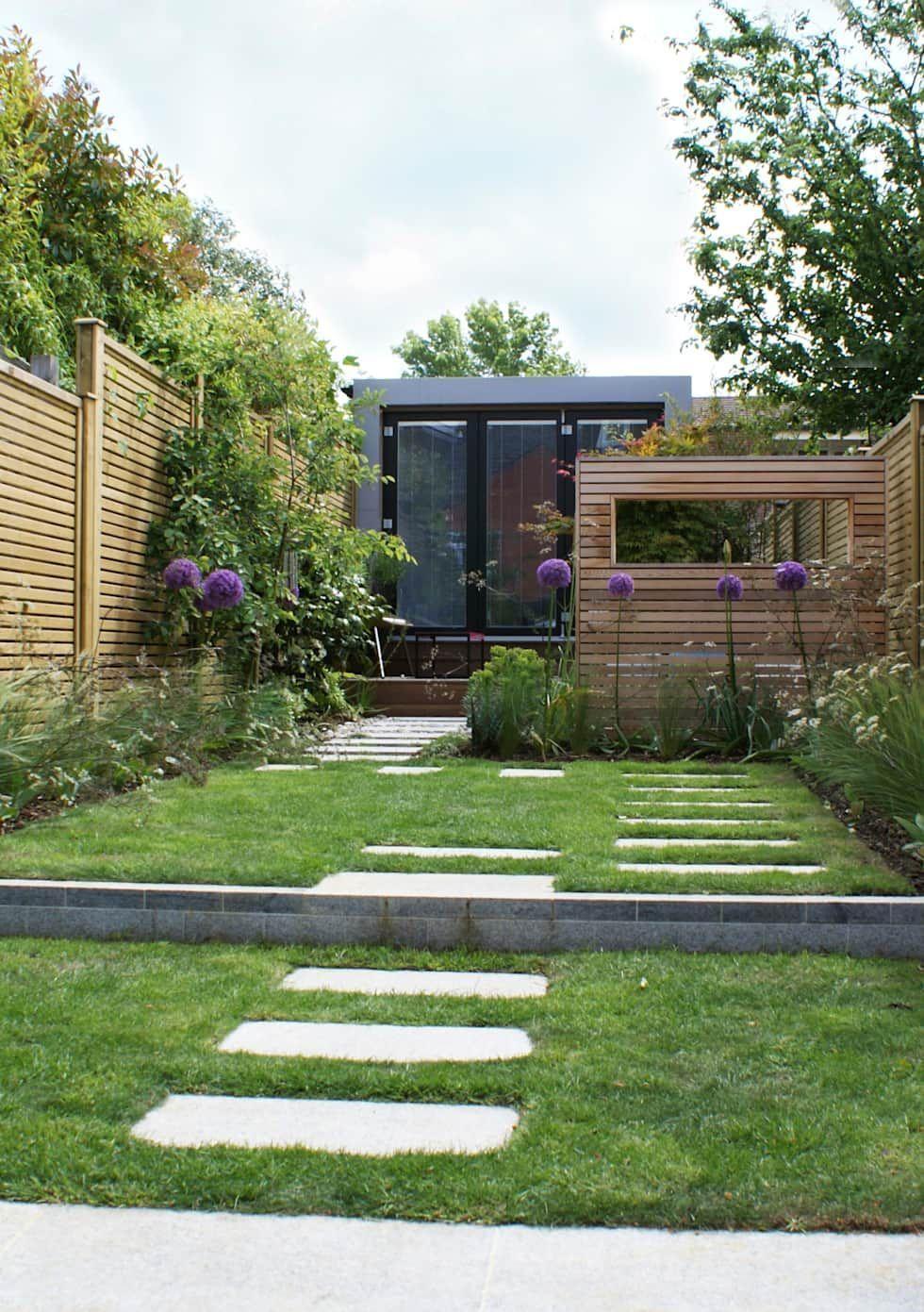 """Wargrave contemporary English garden: {: asian => """"asian"""