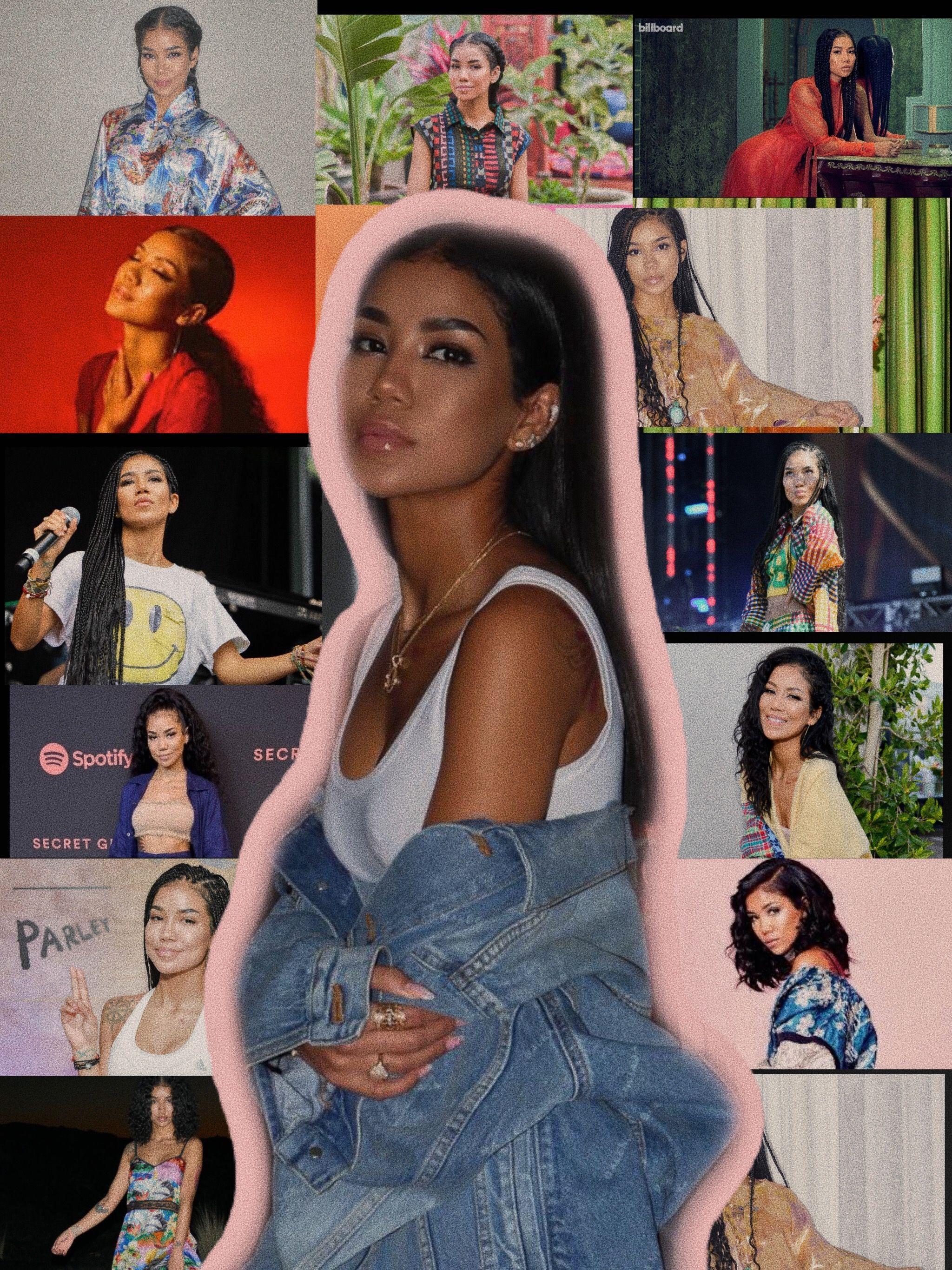 Jhene Aiko Wallpaper Jhene Aiko Rapper Wallpaper Iphone Celebrity Wallpapers