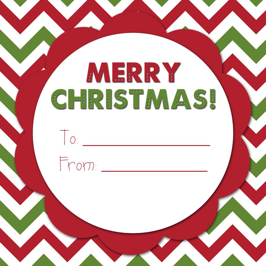 Christmas Tree Graphic Organizer: An Organized Family: A Merry Christmas Tag. Free Printable