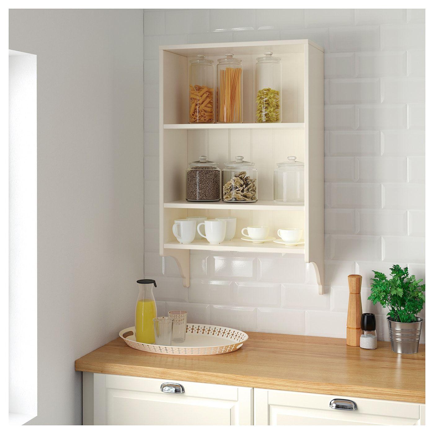 IKEA TORNVIKEN OffWhite Wall shelf Wall shelves