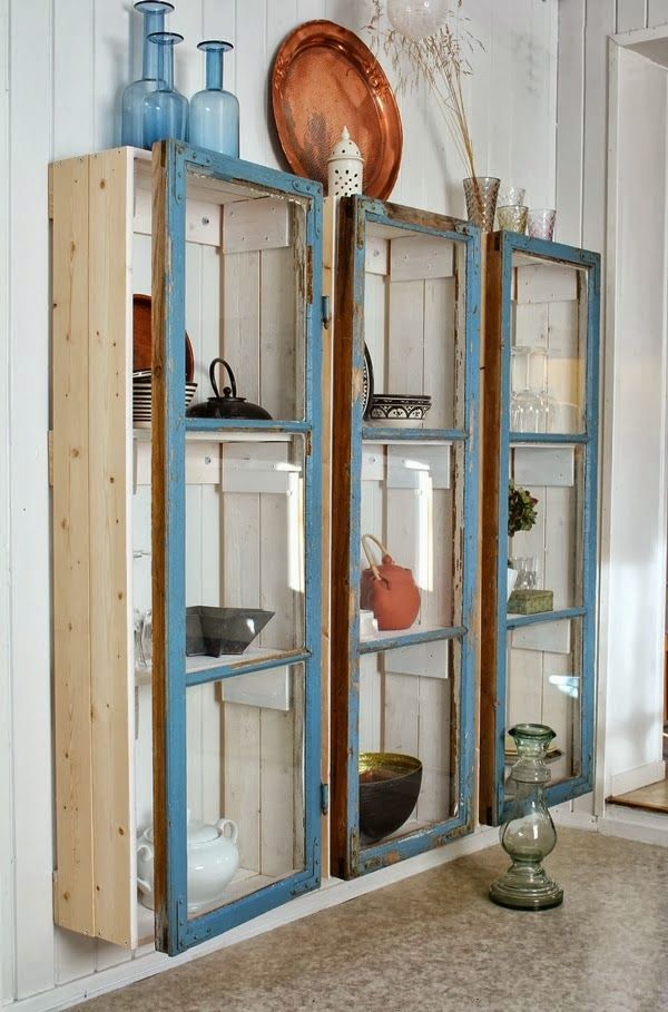 Reciclando puertas y ventanas | Decorar tu casa es facilisimo.com